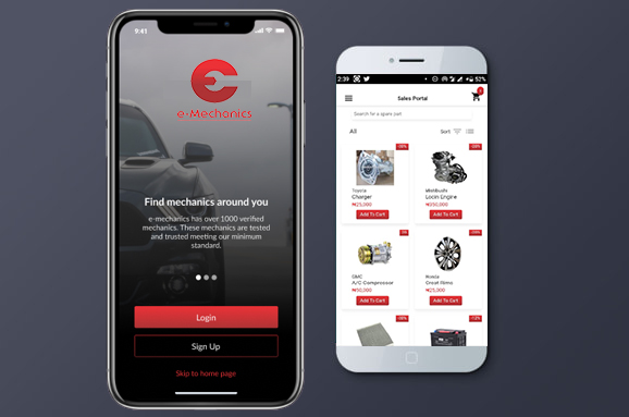 e-Mechanics Automobile App